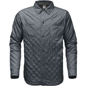Fort Point Insulated Flannel Jacket - Men's Turbulence Grey, L - Excellent