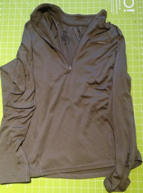 Patagonia Capilene 3 Zip Neck Long Sleeve Shirt, Men's Large