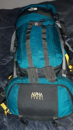 The North Face Alpha Tyrol expedition pack