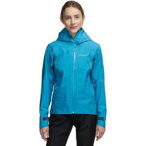 Falketind Gore-Tex Jacket - Women's Blue Moon, M - Good