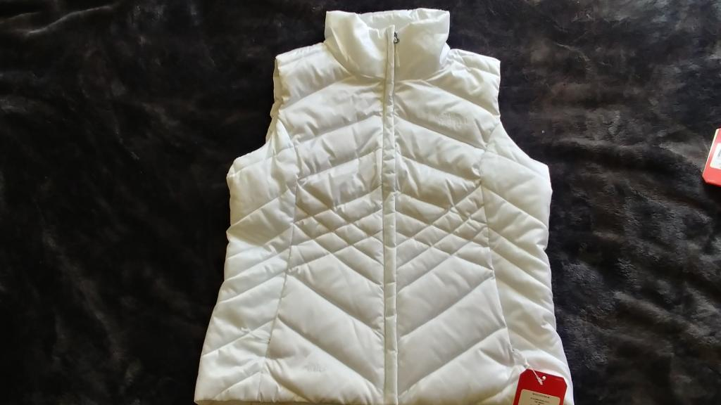 The North Face White Aconcagua Vest Womens Medium