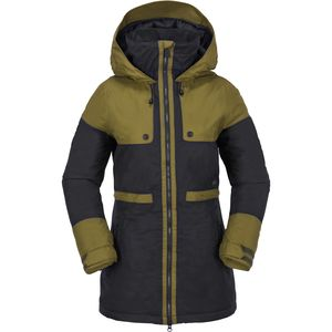 Comox Hooded Insulated Jacket - Women's Moss, M - Excellent