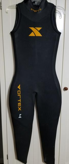 Xterra Vortex 4 Sleeveless Wetsuit - Womens Small