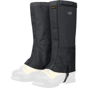 Expedition Crocodile Gaiter Black, XL - Excellent