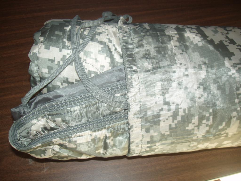 US Airforce Poncho Linner w zipper