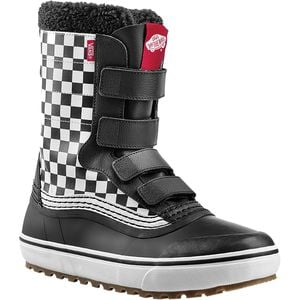 Standard V Snow Boot Checkerboard/Black, Mens 10.5/Womens 12.0 - Excellent