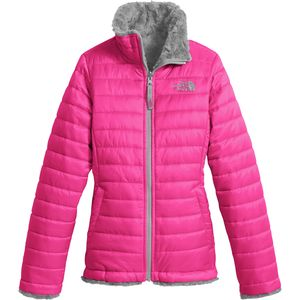 Mossbud Swirl Reversible Jacket - Girls' Petticoat Pink, M - Fair