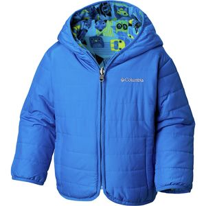 Double Trouble Insulated Jacket - Toddler Boys' Super Blue Critters Print, 2T - Excellent