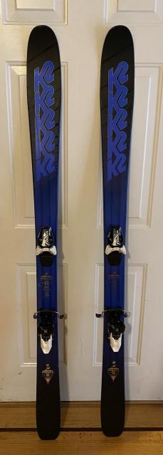 K2 Pinnacle 88/170 Skis w/ Tyrolia RX12 bindings - Only used once!