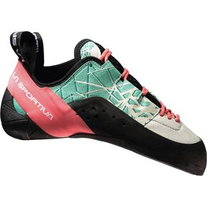 Kataki Climbing Shoe - Women's Mint/Coral, 37.0 - Good