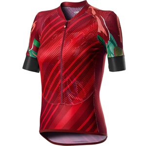 Climber's Short-Sleeve Jersey - Women's Red, M - Excellent