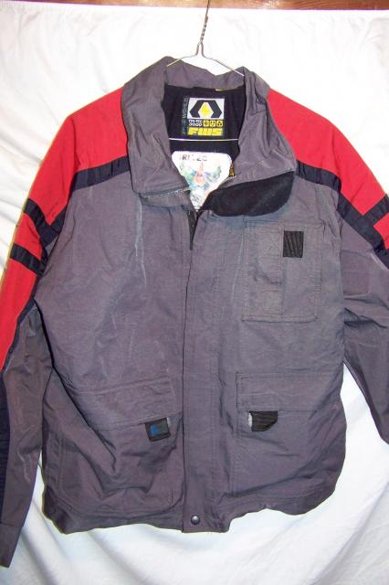 FWS Free World Snowboarding Ski Jacket, Men's Medium