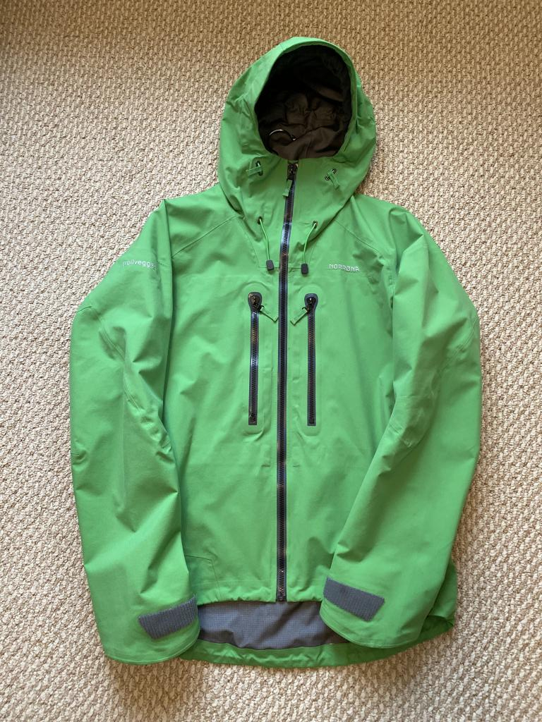 Norrona Trollveggen Jacket | Green | Large