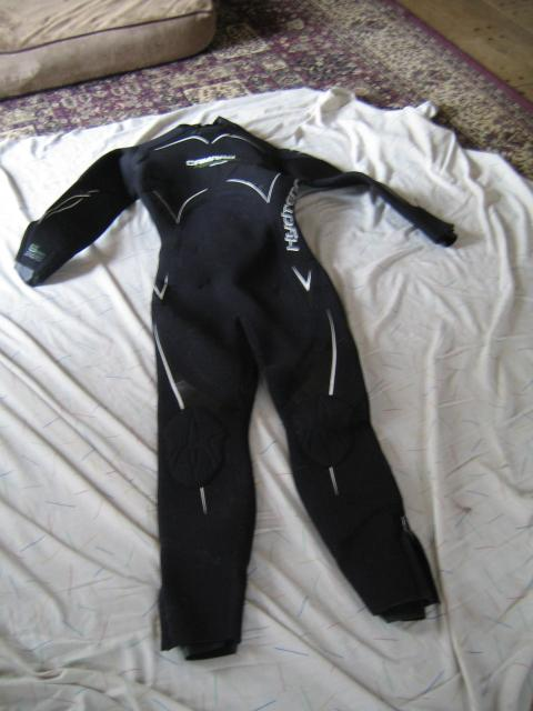 CAMARO HYDRONOMIC Women's Overall 5mm Semi-Dry wetsuit, Small/38