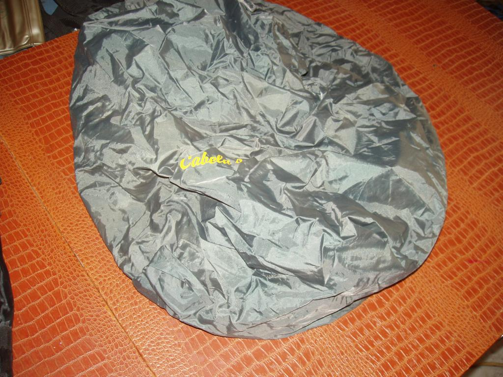 Cabelas Rain Cover for fairly small pack