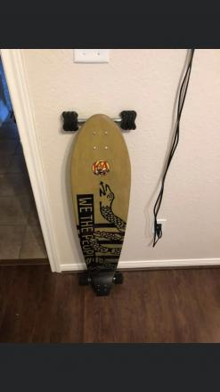 KOTA longboard with sidewinder trucks