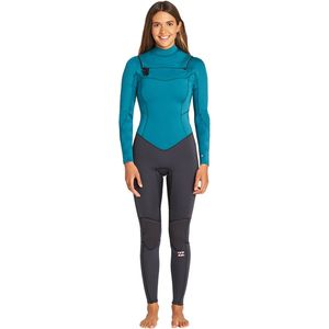 3/2mm Furnace Synergy Chest-Zip GBS Wetsuit - Women's Pacific,10 - Excellent