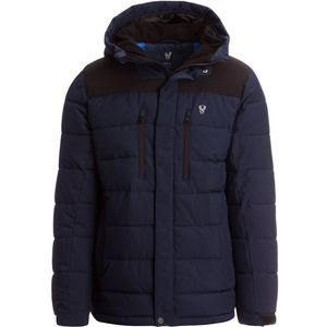 Heavyweight Insulated Parka - Men's Navy, L - Good