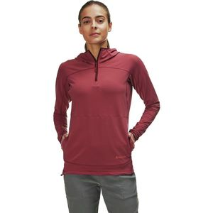 Liquid Oxygen Hooded Pullover - Women's Rich Mauve,S - Good