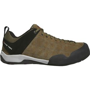 Guide Tennie Approach Shoe - Men's Dark Cargo/Black/Unity Orange, 11.0 - Excellent