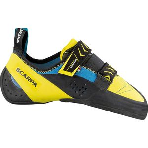 Vapor V Climbing Shoe Ocean/Yellow, 42.0 - Excellent