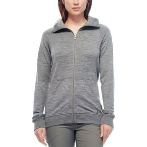 Crush Long-Sleeve Full-Zip Hoodie - Women's Gritstone Heather,XS - Excellent