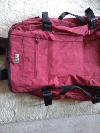 rolling duffel that folds up for storage