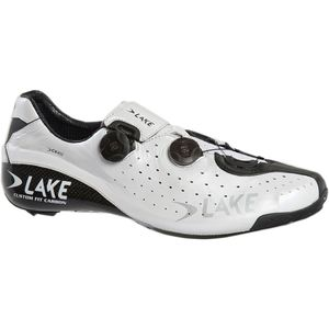 CX402 Cycling Shoe - Men's White/Black, 42.0 - Good