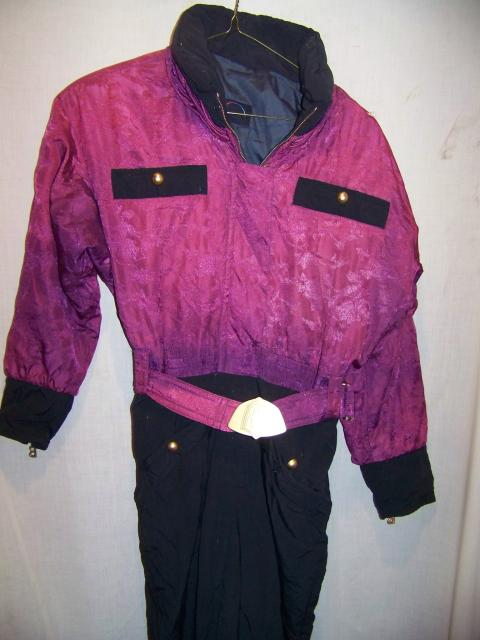Vintage Bogner One Piece Ski Suit, WM 8 Med
