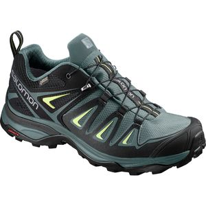 X Ultra 3 GTX Hiking Shoe - Women's Artic/Darkest Spruce/Sunny Lime, US 11.0/UK 9.5 - Excellent