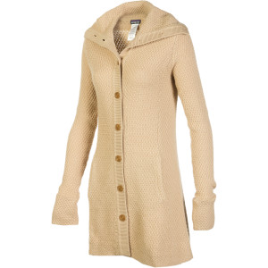 Patagonia - Merino Sweater Coat - Women's Woodland Tan,