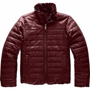 Mossbud Swirl Reversible Jacket - Girls' Deep Garnet Red,M - Fair