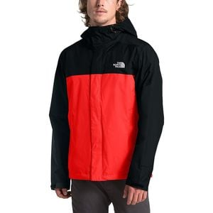Venture 2 Hooded Jacket - Men's Fiery Red/Tnf Black, XXL - Excellent