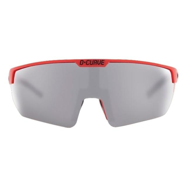 DCURVE Challenger Matte Red with Black Sport Sunglasses
