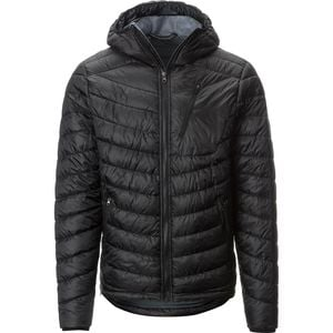 Packable Insulated Hooded Jacket - Men's  Black, M - Good