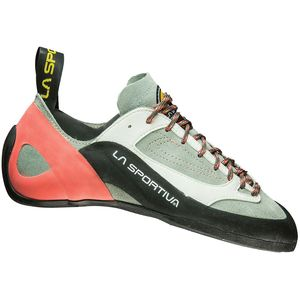 Finale Climbing Shoe - Women's Grey/Coral, 40.0 - Good