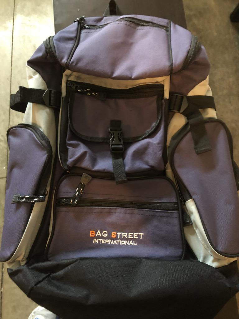 Backpack by Bag Street International multiuse
