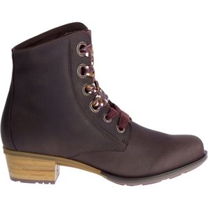 Cataluna Lace Boot - Women's Mahogany, 9.0 - Fair