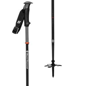 Carbon Compactor Ski Poles One Color, 130cm - Excellent