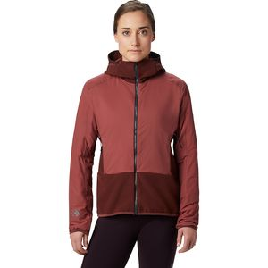 Kor Strata Climb Hooded Jacket - Women's Washed Rock, M - Excellent