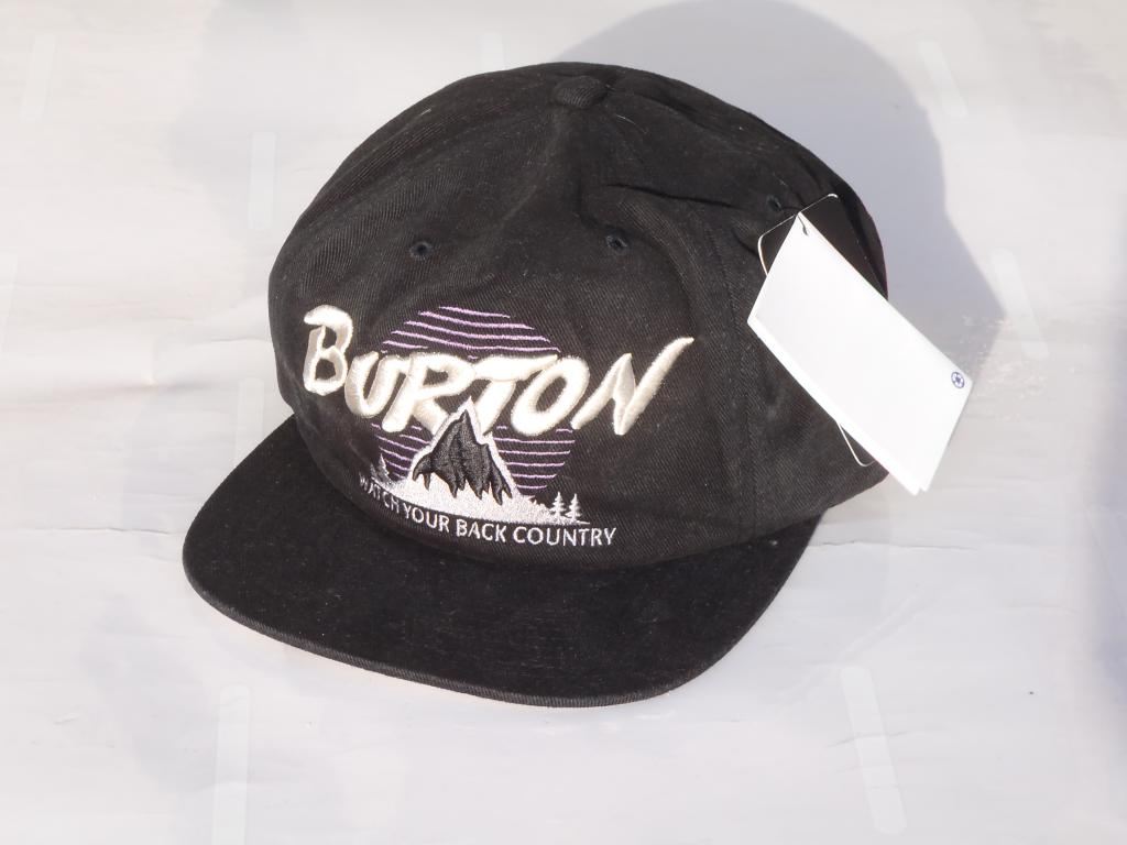 BURTON Trucker Hat cap New Adjustable Size OSFA Ski Snowboarding