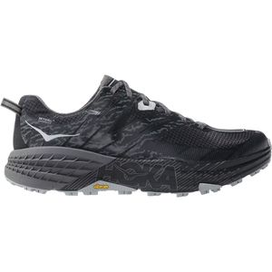 Speedgoat 3 Waterproof Trail Running Shoe - Men's Black/Drizzle, 8.0 - Good