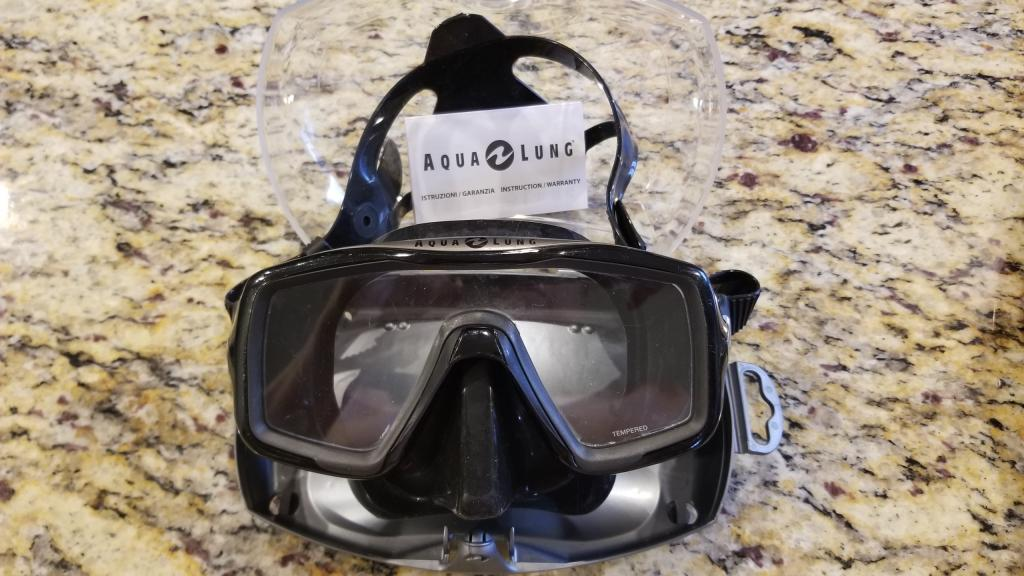 Aqualung dive mask