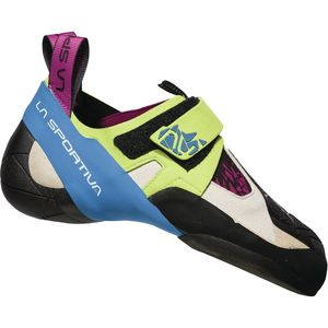 Skwama Climbing Shoe - Women's Apple Green/Cobalt Blue, 37.0 - Good