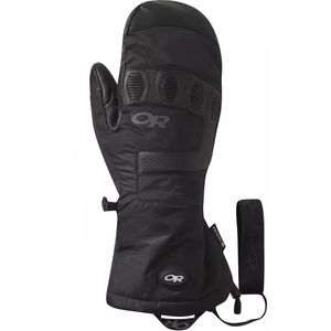 Lucent Heated Sensor Mitten Black, XL - Good