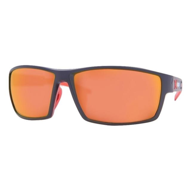 DCURVE Pinnacle Black with Red Sunglasses