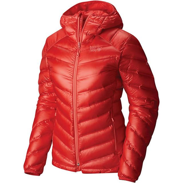 NEW Mountain Hardwear StretchDown RS Hooded Jacket - Womens Small
