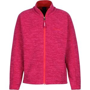 Lassen Fleece Jacket - Girls' Bright Ruby, S - Excellent