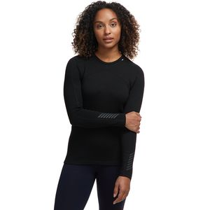 Lifa Merino Crew Top - Women's Black, XS - Excellent