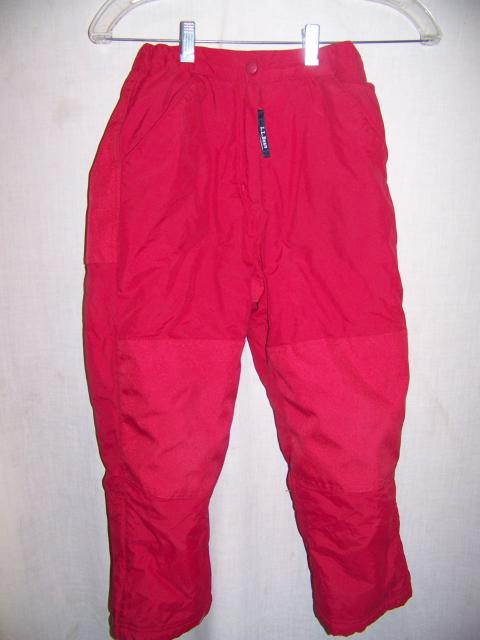 LL Bean Insulated Snowboard Ski Pants, Youth 8